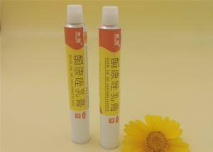 China Soft Metal Sqeeze Tubes , Empty Aluminum Ointment Cream Tubes with 6 Colors Printing on sale
