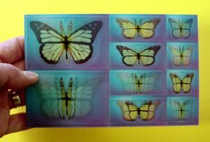 China High Standard Lenticular 3D Card on sale