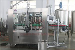 China Monoblock Beverage Drink Can Filling Machine Electric Nitrogen Injection on sale