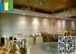 65mm Thickness Sound Insulation Fabric Panels Folding Partition Wall