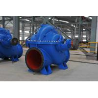 High Flow Double Suction Centrifugal Pump Axial Split Case For Fire Fighting