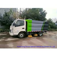 KAMA Mini Road Cleaning Truck With 4 Brushes , Truck Mounted Sweeper