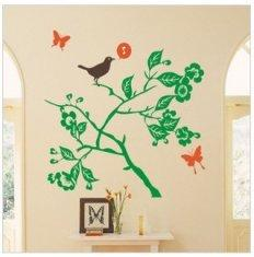 Quality Bedroom Attractive Designer Wall Flower Stickers Ly 057 Floral Wall Stickers