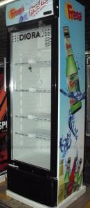 China 350L Saving-energy Low Noise Commercial Fridge / Auto Defrost Refrigerated Display Cooler / Beverage Cooler on sale