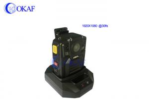 China Police Body Worn Camera 3G/4G Real Time Mini Wireless For Security Guard / Firefight on sale
