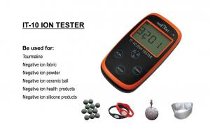 China IT-10 negative ion tester, Solid ion tester ,Static anion Tester,Ore anion tester,Ceramic on sale