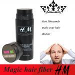 Numere 1 fibra da construção do cabelo para o homem eficaz do tratamento da queda de cabelo e a cor da mulher 9 para escolhe