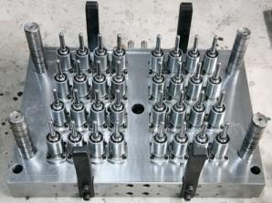 China 32 Cavity Hot Runner Precision Injection Mould , Needle Valve Pet Perform Mold on sale