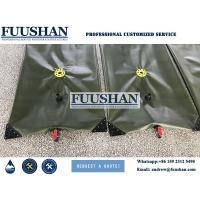Fuushan Customized 500000 liter PVC Fabric Flexible Water Tanks