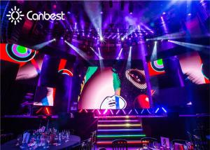 China Indoor DJ Background LED Display Screen Rental Decoration LED Backdrop Screen Rental on sale