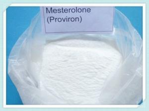 China Mesterolone / Proviron Powder Oral Anabolic Steroids CAS 1424 00 6 White Color on sale