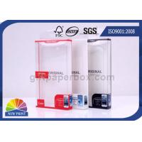 China Custom Printed Electronics Packaging Box PET PP PVC PS Transparent Plastic Boxes on sale