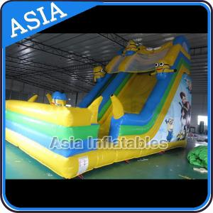 China PVC Tarpaulin Commercial Inflatable Bouncer Inflatable Minions Bouncy Castle on sale