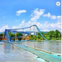 16 Persons Theme Park Roller Coaster Rides Kids Fun Fair Games Color Customized