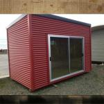 Mobile Office Containers Modern House With Sandwich Wall Panel