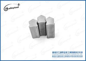 China Gray Soild Drilling Bits Tungsten Carbide Tips For Drilling Furnace YK06 on sale