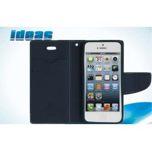 China Contrast Color Leather Cell Phone Holsters dustproof For iphone 6 on sale