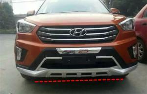 China ABS Blow Molding Car Bumper Guard Front And Rear For Hyundai IX25 Creta 2014 on sale