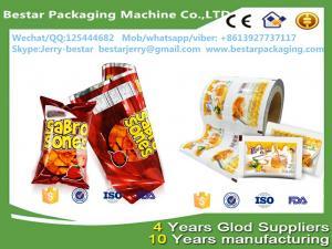 China holesale vivid printing frozen popsicle packaging roll film,Food packaging plastic roll film with bestar packaging on sale