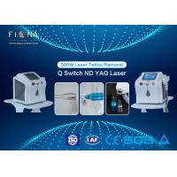 Mini Q Switched Nd Yag Laser Tattoo Removal Machine , Portable Tattoo Removal Machine 60HZ