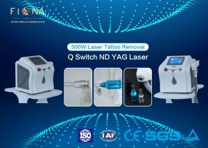 China Mini Q Switched Nd Yag Laser Tattoo Removal Machine , Portable Tattoo Removal Machine 60HZ on sale