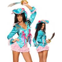 China Pirate Costumes Wholesale Adult Caribbean Captain Costume Wholesale from Manufacturer Directly carnival on sale