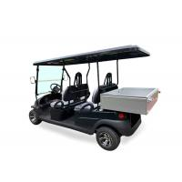 China Patrol Battery Powered Utility Golf Cart With Aluminum Chassis And Stainless Box on sale