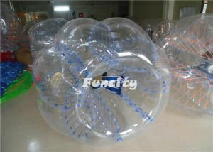China Inflatable 1.0mm TPU Water Bumperz Bubble Football For Soccer Event on sale