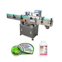 China Automatic Vertical Plastic Glass Bottle Labeling Machine For Beverage on sale