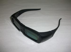 China Bluetooth LCD Universal Active Shutter 3D TV Glasses For Panasonic Black Color on sale