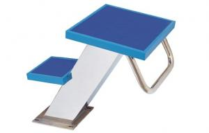 China Two Steps Swimming Pool Fittings Starting Block / Starting Platform with SS304 on sale