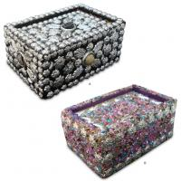 Eco-Friendly Decorative Earring / Ring Jewellery Packaging Boxes With CMYK Color