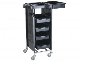 China Cosmetology Rolling Beauty Cart , Durable Beauty Salon Carts For Stylist on sale