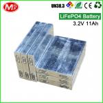 For ship machine rechargeable lithium ion battery 3.2V 11Ah LiFePO4 battery cell