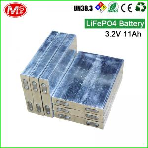 China For ship machine rechargeable lithium ion battery 3.2V 11Ah LiFePO4 battery cell supplier