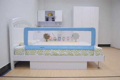 Adjustable Baby Bed Guard Rail 150cm Safe Infant Rails Images