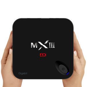 China Amlogic S812 Quad Core Mxiii 4kK Android Smart TV Box  XBMC / KODI 1000M Gigabit Ethernet supplier