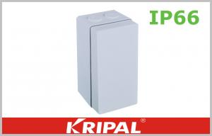 China UV resistant PVC Junction Box Enclosures IP66 Junction Boxes For Lighting on sale