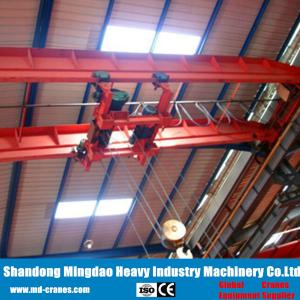 China 2018 Hot Sale CE ISO Certificated 40ton LH Double Girder Overhead Crane Installed with Electric Hoist on sale