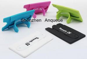 China HOT Selling! Multi Function Silicone Phone Wallet With Built-In Kickstand on sale