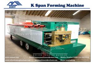 China Non-camber House Roof Roll Forming Machine For 0.8-1.5MM Thickness on sale