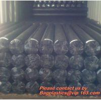 Customized Cling Pe Packing Material Cross Linked Construction Shrink Film,LDPE construction films for dam lining, fish