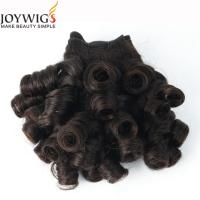 Newest product 2016 Qingdao Joywigs 10A Grade Unprocessed Indian Virgin Human Hair Natural Colour Nigerian curly Hair Weft