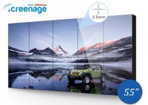 China 55 Inch Ultra thin LCD Video Walls LCD Display Panel 1209.6 (H) x 680.4 (V) on sale