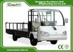 Trojan Batteries Electric Utility Carts , Utility Golf Carts Kds 72v 7.5kw Acim Moter