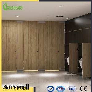 China Amywell High density waterproof Public Phenolic resin toilet partitions for italy on sale