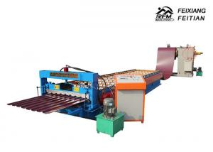 China Durable Metal Steel IBR Sheet Roll Forming Machine For Road Construction on sale