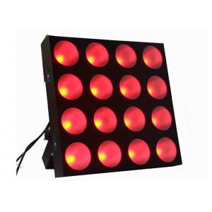China 16x 30W RGB Tri Color LED Par Can Lights DJ Dotz Matrix light on sale