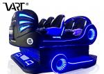 5.5kw 9D Virtual Reality Chair / 9D VR Cinema Arcade Game Machines For 6 Seater