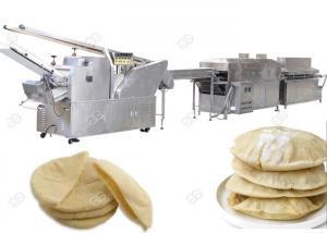 China Kuboos Injera Making Machine Fully Automatic Pita Bread Production Line on sale